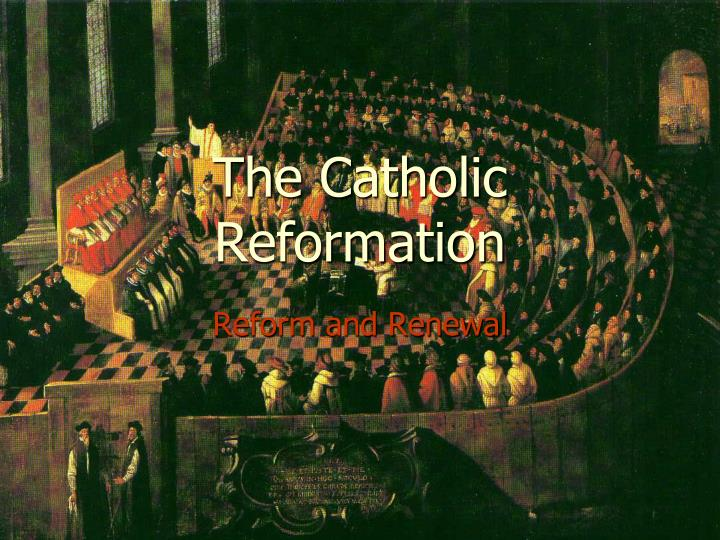 the catholic reformation n.