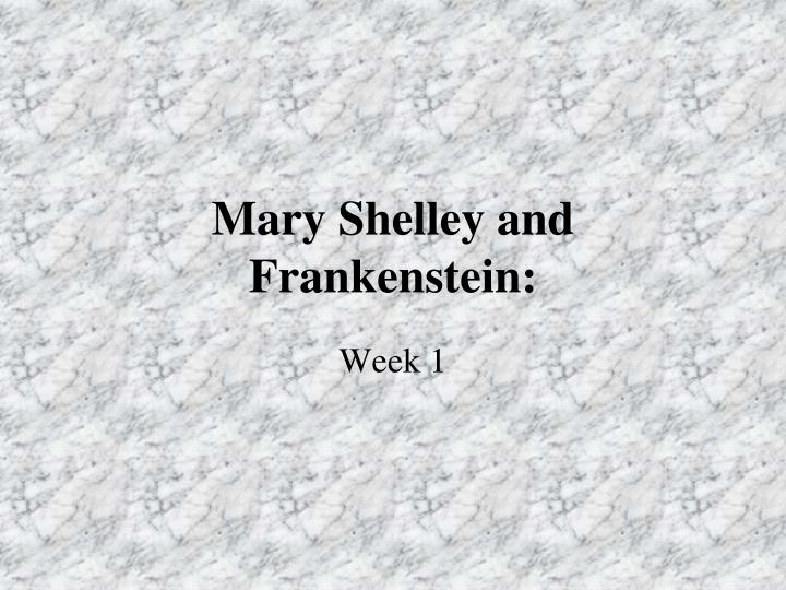 mary shelley and frankenstein n.
