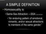a simple definition