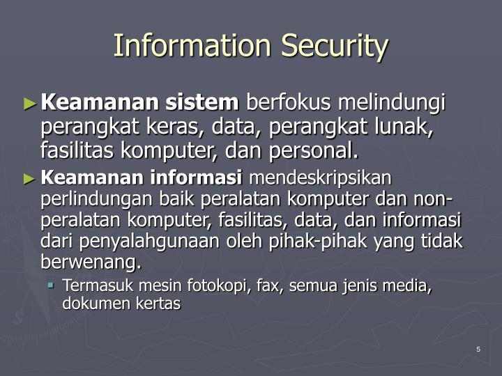 Information security1