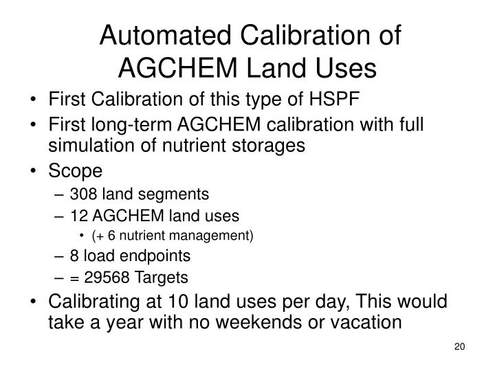 Automated Calibration of