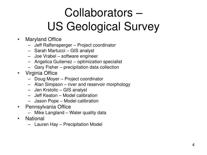 Collaborators –