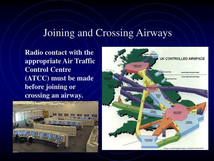 Joining and Crossing Airways