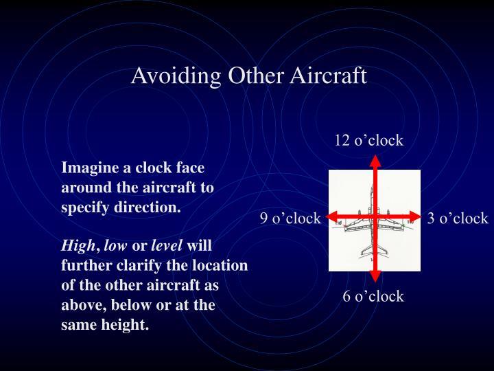 Avoiding Other Aircraft