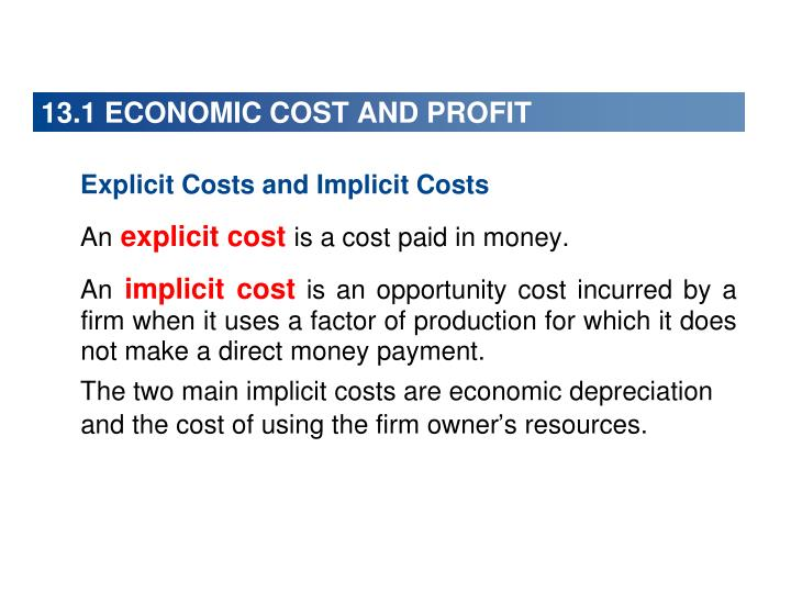 13 1 economic cost and profit n.