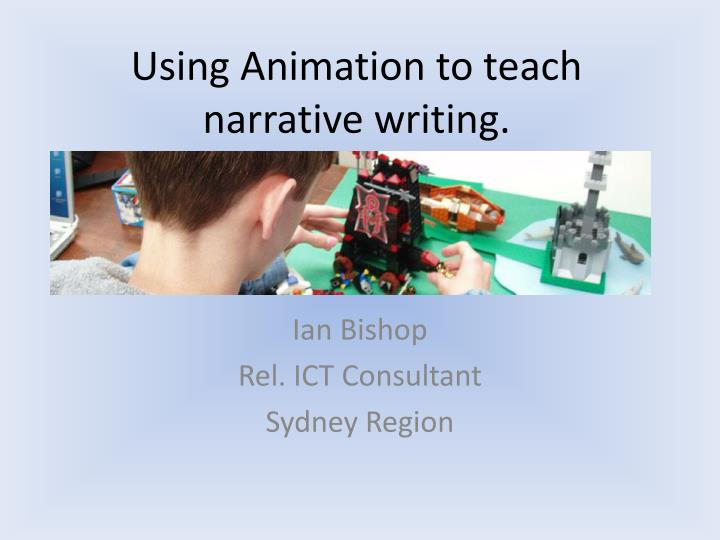 using animation to teach narrative writing n.