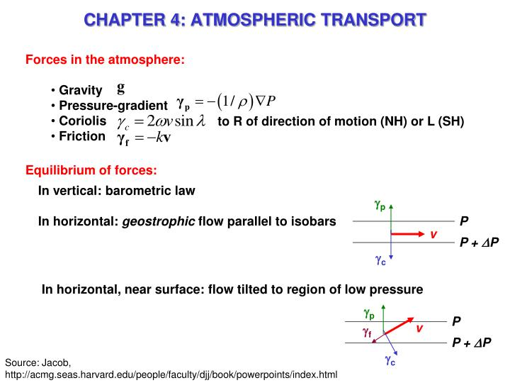 chapter 4 atmospheric transport n.