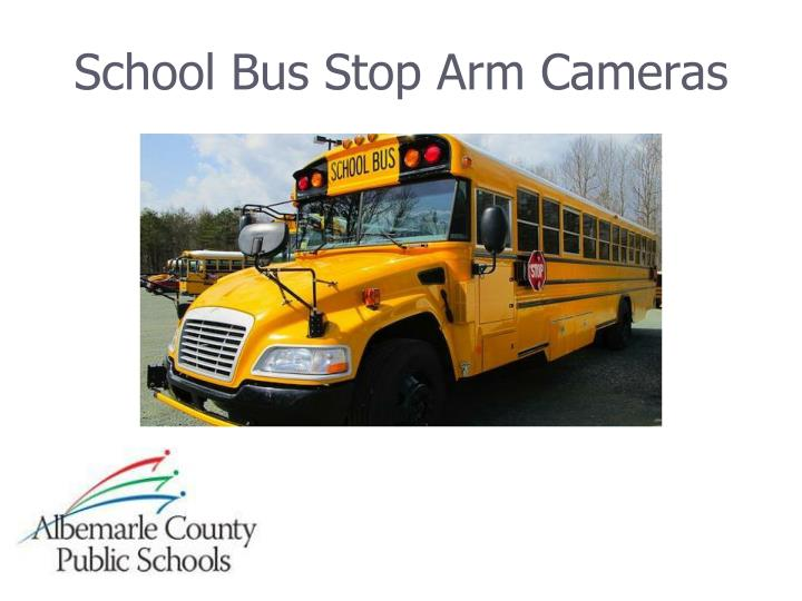 school bus stop arm cameras n.