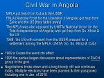 civil war in angola