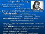 history congo zaire asf independent congo 56 1 49 1 49 2 39