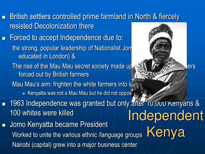 Independent Kenya