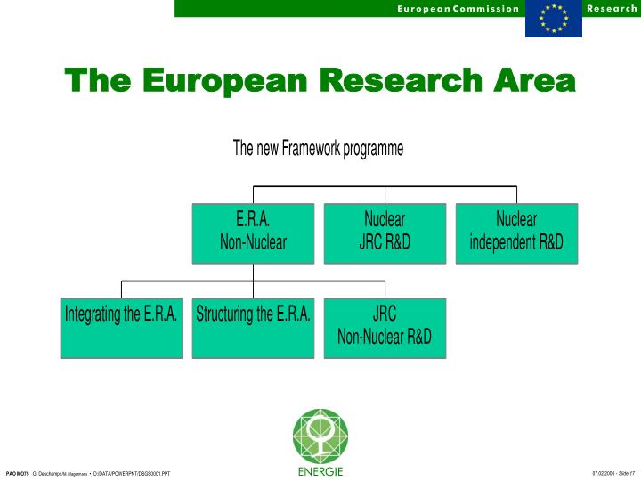 The European Research Area