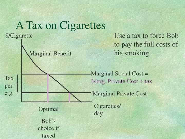 A Tax on Cigarettes