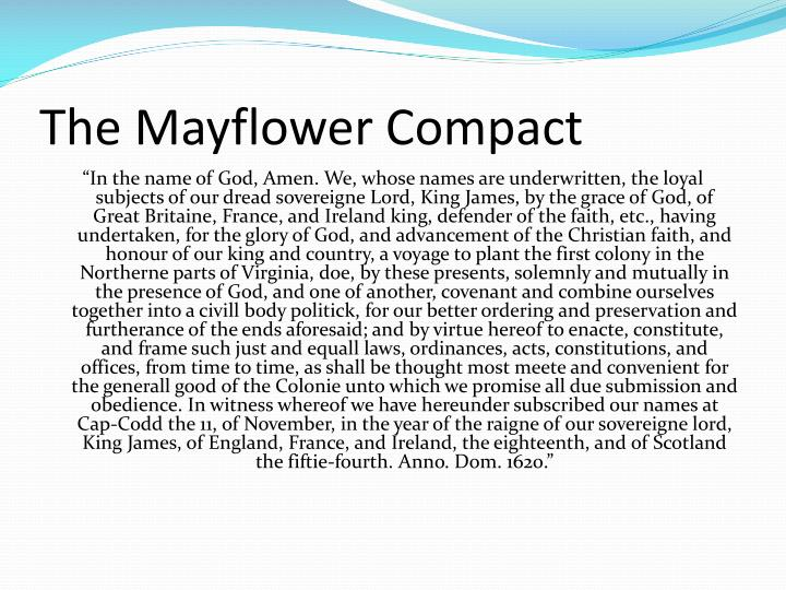 Essay On The Mayflower Compact  Homework Academic Service  Essay On The Mayflower Compact The Mayflower Compact Started A Process By  Which Democracy Took Root English Short Essays also From Thesis To Essay Writing  Narrative Essay Examples For High School