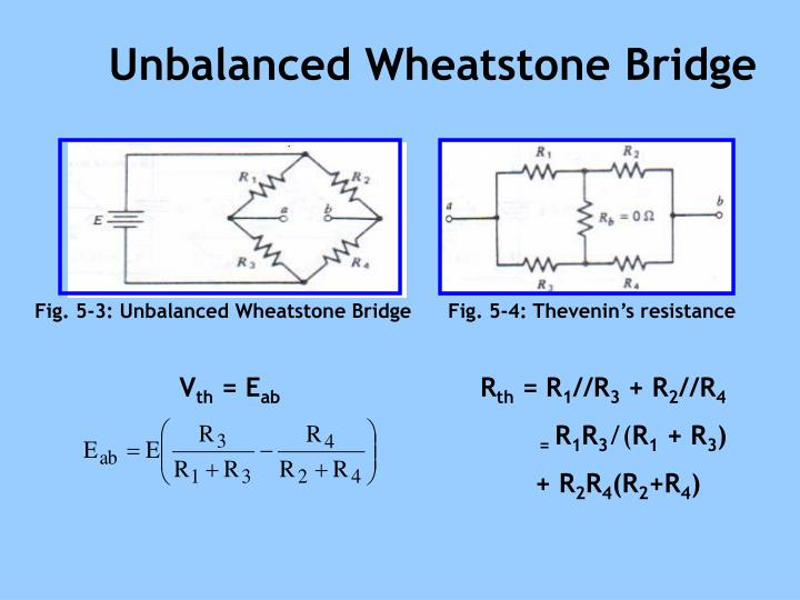 wheatstone bridge and resistivity of metals Procedure the apparatus for the wheatstone bridge is a ten-turn potentiometer, a voltmeter, a standard decade resistance box, set of resistance spools of wire, a power supply, a momentary contact switch, and a set of connecting wires.