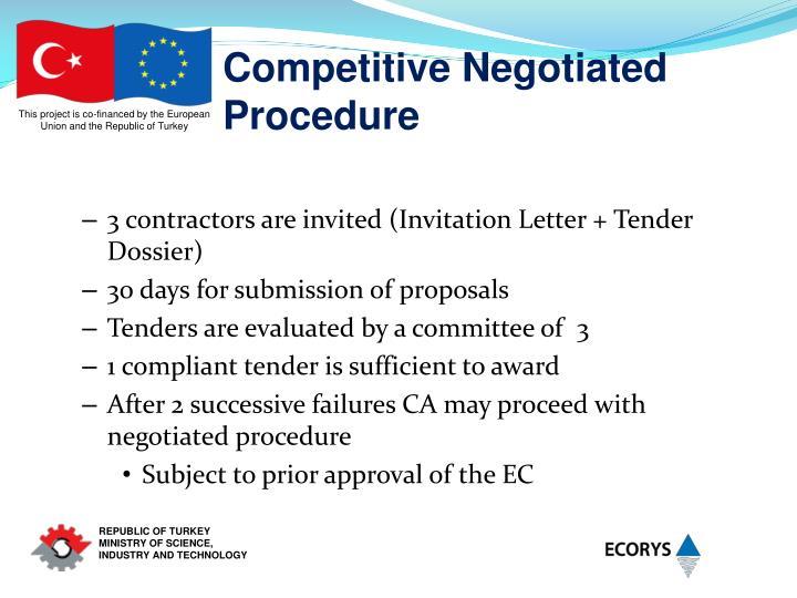 Competitive Negotiated Procedure