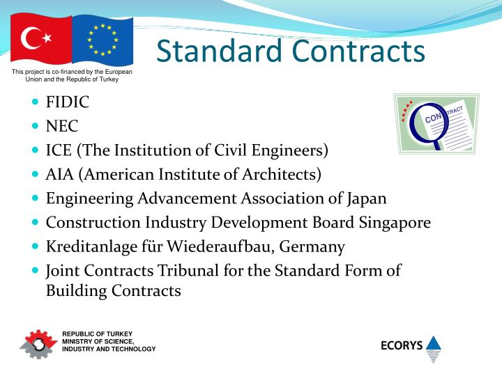 Standard Contracts