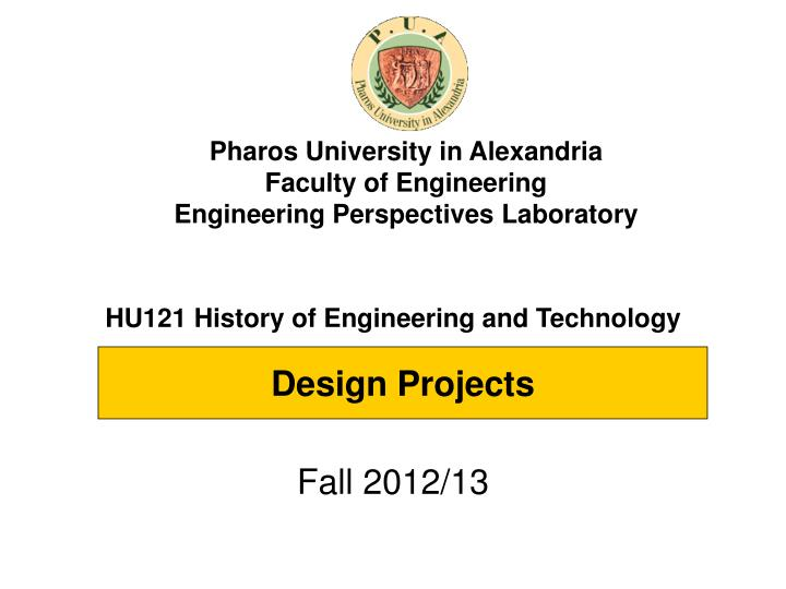 hu121 history of engineering and technology n.