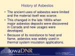 history of asbestos1