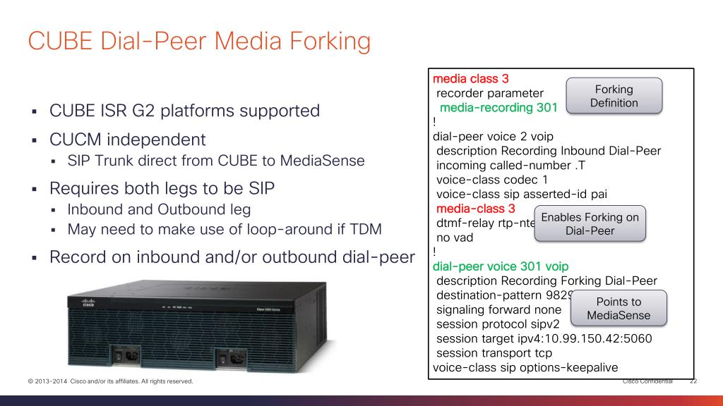PPT - Network Media Recording and Streaming with Cisco MediaSense
