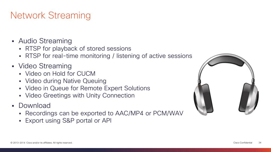 PPT - Network Media Recording and Streaming with Cisco