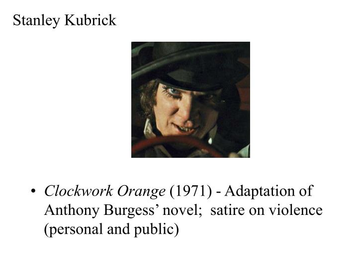 violence and corruption of anthony burgesss novel a clockwork orange A clockwork orange - 5 star review 1 a clockwork orange a clockwork orange (warner bros pictures/1971) stanley kubricks striking visual interpretation of anthony burgesss famous novel is a masterpiece.
