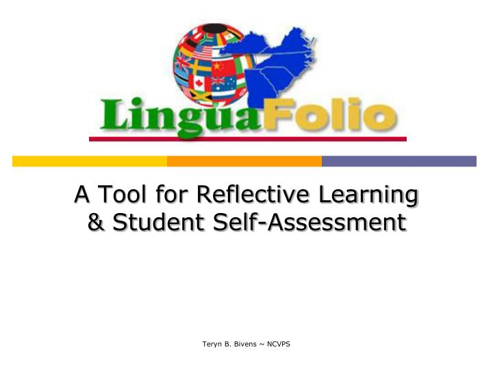 a tool for reflective learning student self assessment n.