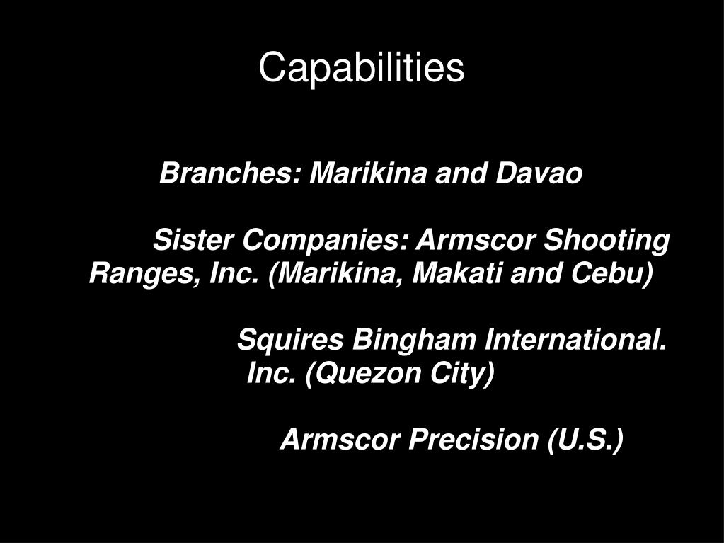 PPT - Industry Analysis: Ammunitions Reloading Industry
