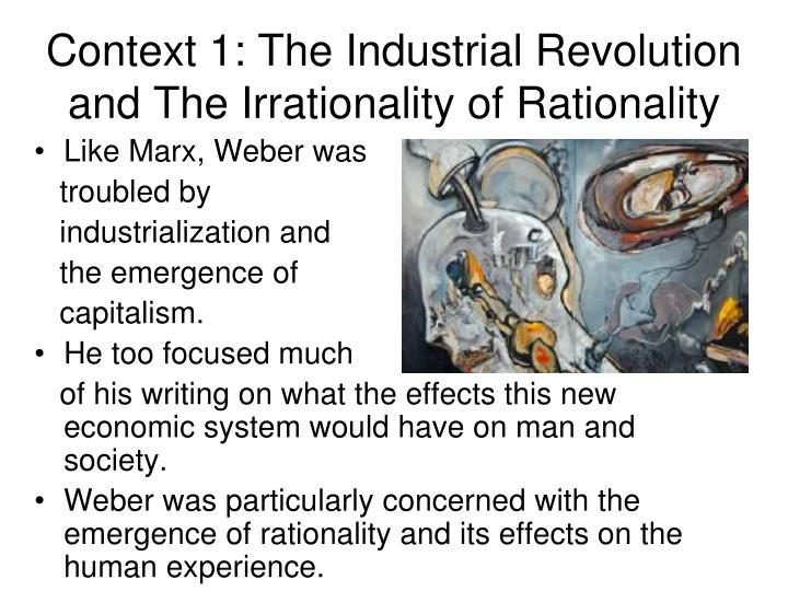 sociology and the industrial revolution Free college essay sociology and the industrial revolution the industrial revolution leaves us with many questions: was the revolution in industry simply an issue of new machinery.