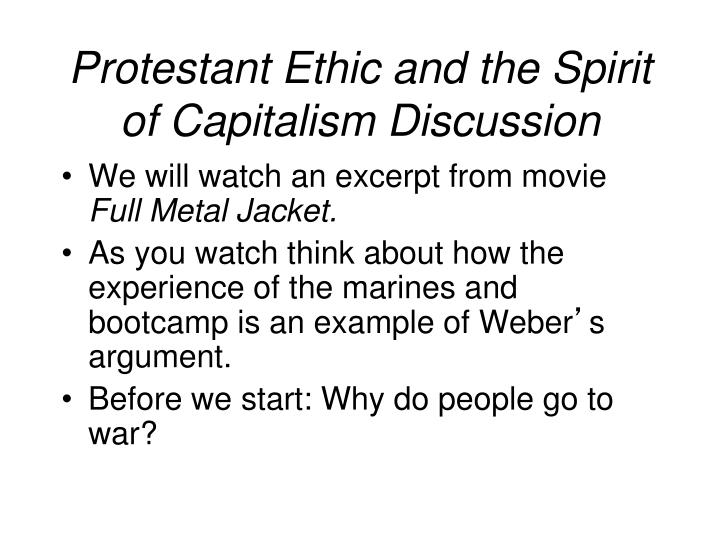protestant ethic essay questions Through this lesson, you will explore max weber's collection of essays known as ''the protestant ethic and the spirit of capitalism'' you will.