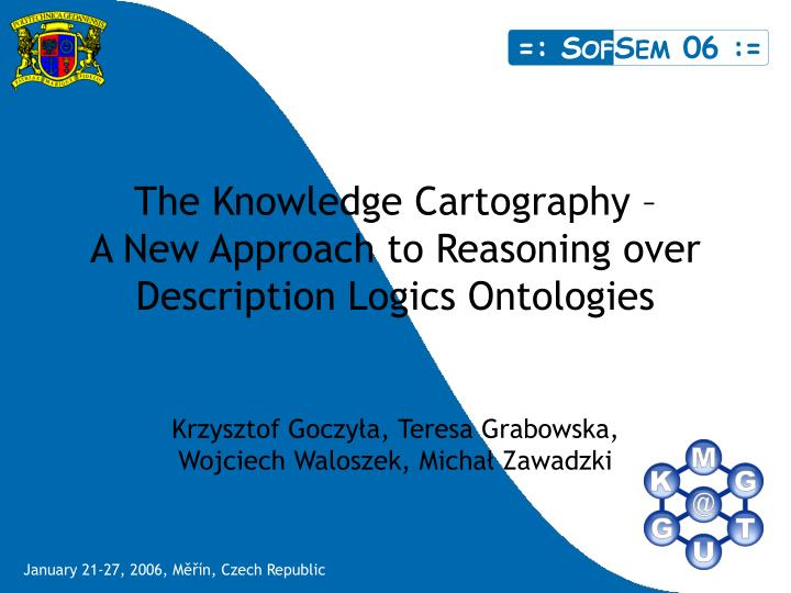 the knowledge cartography a new approach to reasoning over description logics ontologies n.