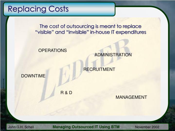 Replacing Costs