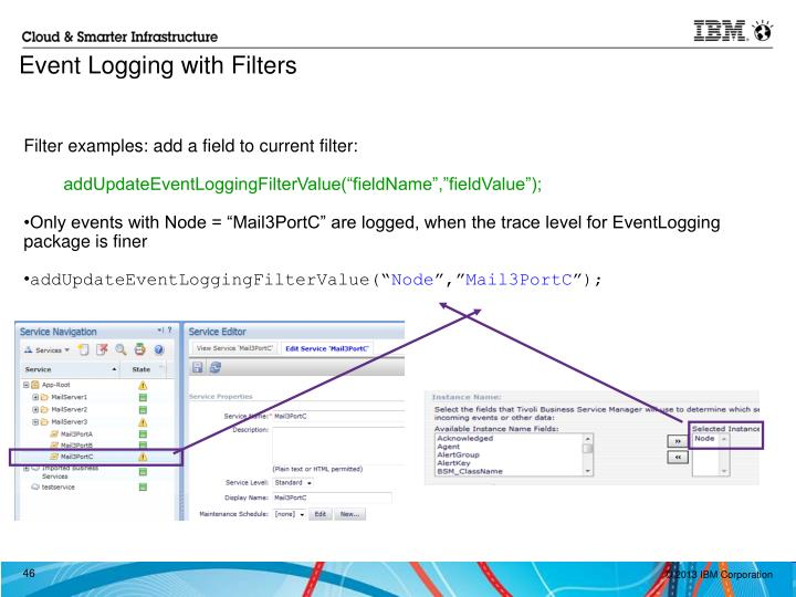 Filter examples: add a field to current filter: