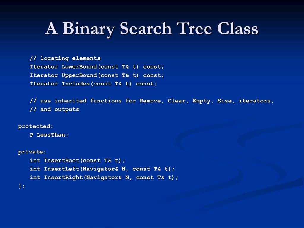 PPT - Trees 4: Associative Binary Tree Structures PowerPoint