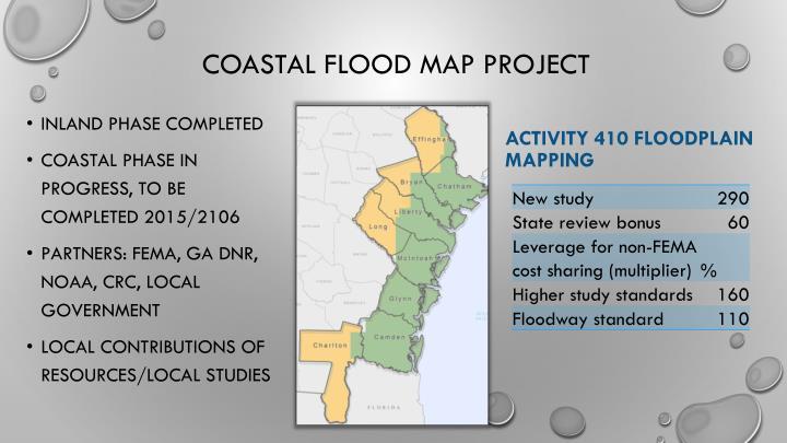 Coastal Flood Map Project