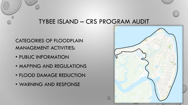 Tybee island crs program audit
