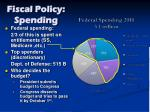 fiscal policy spending