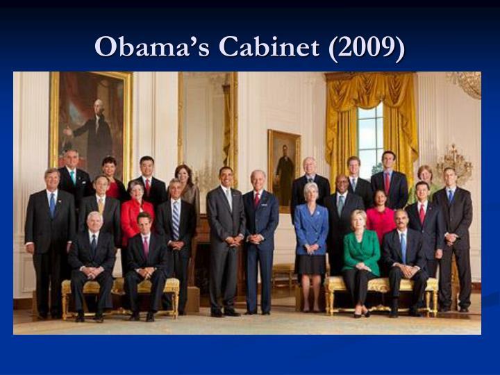 Obama's Cabinet (2009)