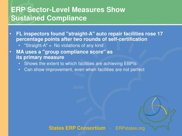 ERP Sector-Level Measures Show