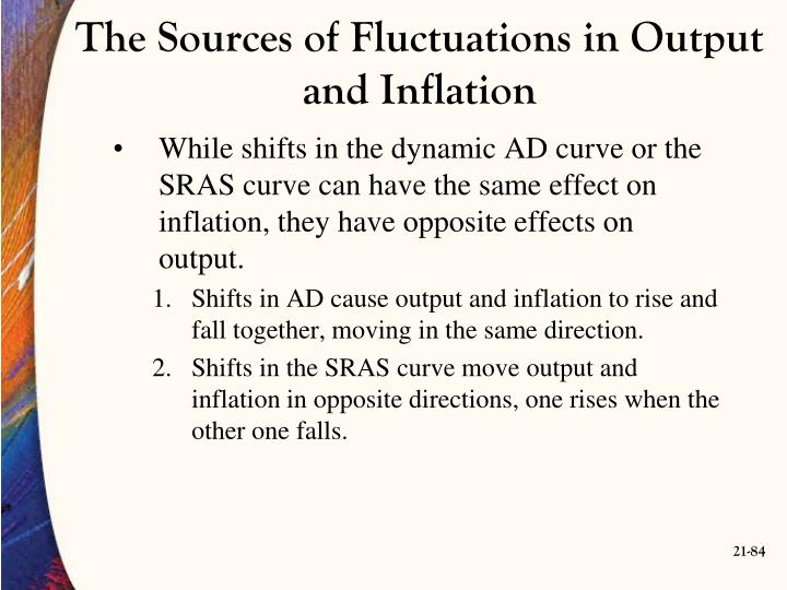 The Sources of Fluctuations in Output and Inflation