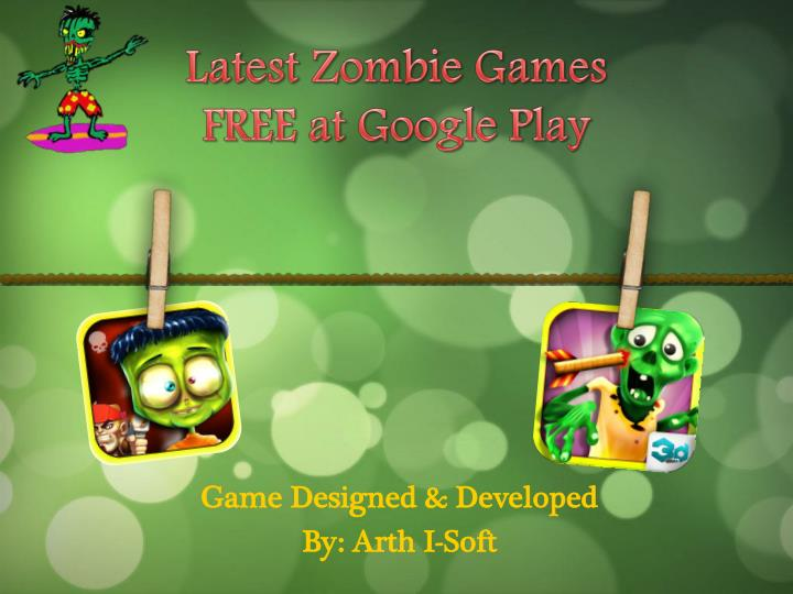 latest zombie games free at google play n.