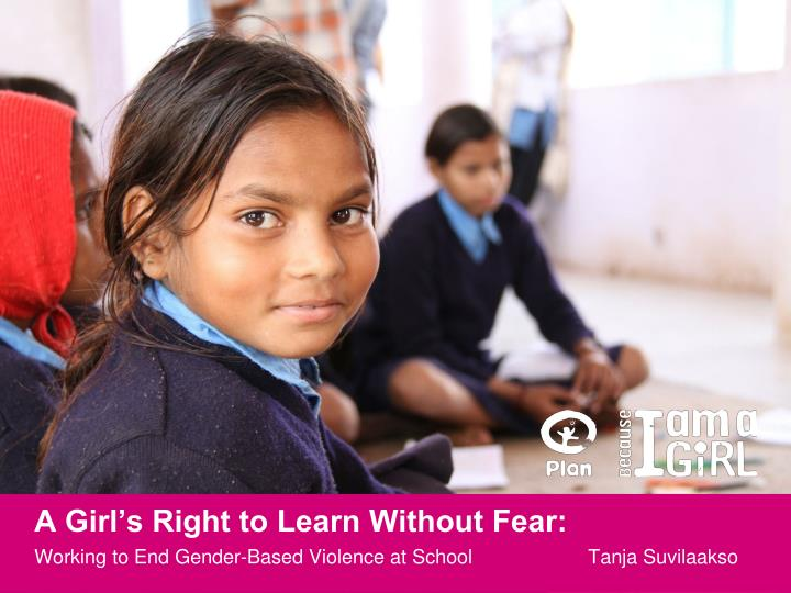 a girl s right to learn without fear n.