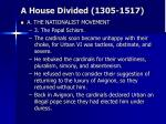 a house divided 1305 151716