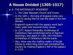 a house divided 1305 15173