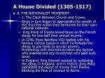 a house divided 1305 15176