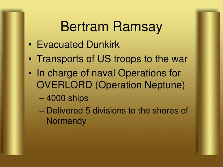 Bertram Ramsay