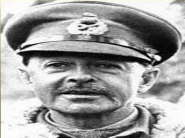 Major general harold alexander british expeditionary force