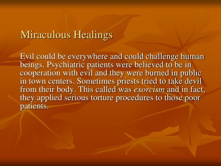 Miraculous Healings