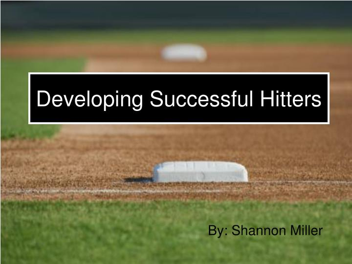 developing successful hitters n.