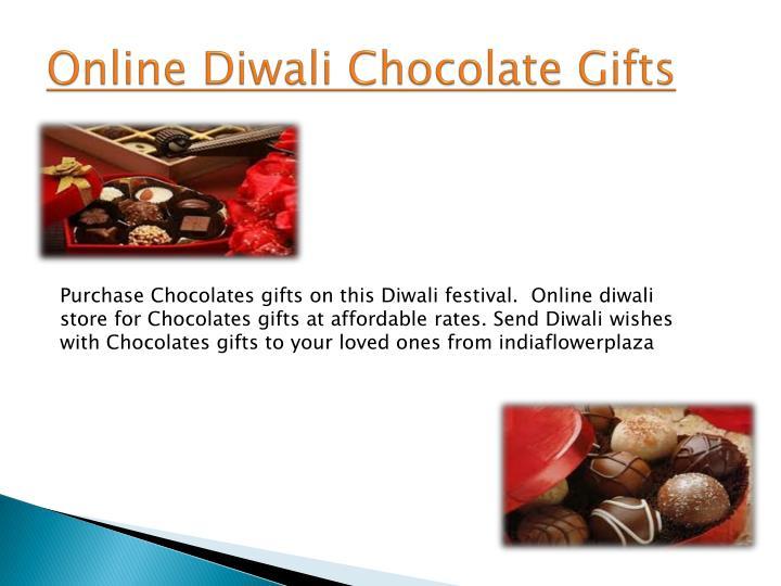 Online Diwali Chocolate Gifts